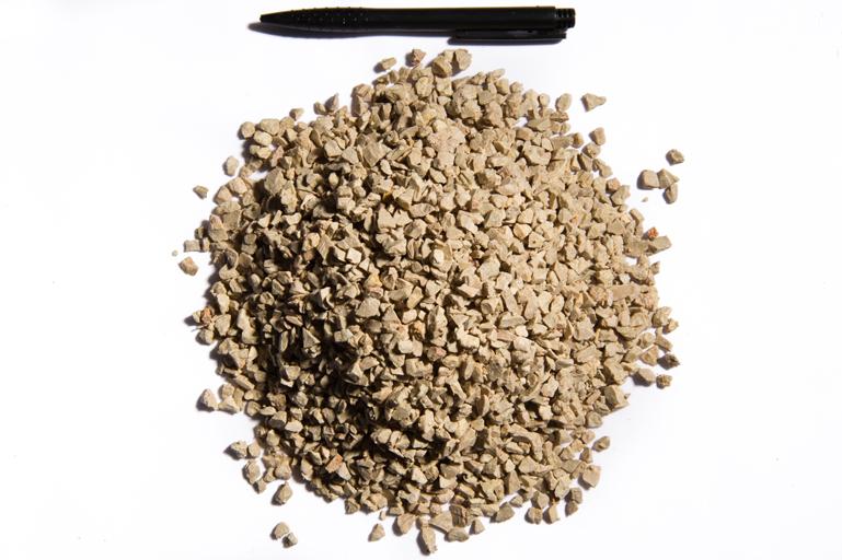 Combien de tonnes de sable pour une carrière
