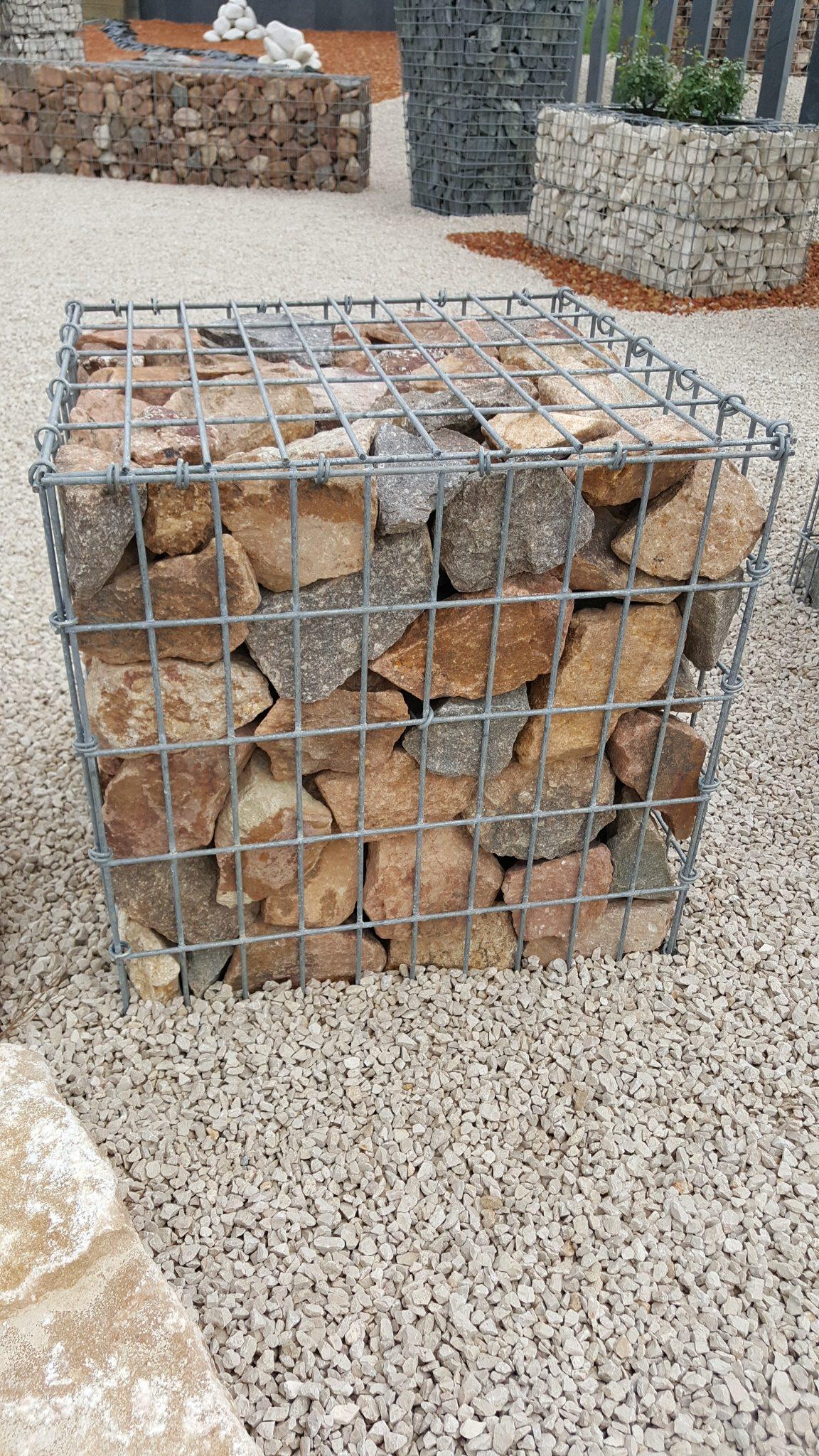 Fabricant De Gabion Rhone Alpes les gabions – mâcon granulats